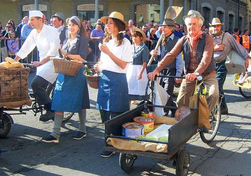 Италия, фестиваль вина в Асти